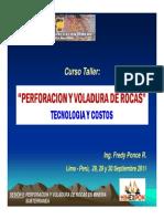 II. Perforacion y Voladura en Mineria Subterranea