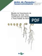 Modelo de Crescimento de Plântulas de Café