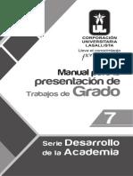 Manual Para Presentacion Trabajos Grado