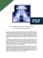 Santidad Interior y Santidad Externa.