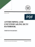 USITC Handbook