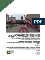 Red de Movilidad Ciclista - BICIPLAN para el Área Metropolitana de Monterrey