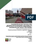 Proyectos Prioritarios - BICIPLAN para el Área Metropolitana de Monterrey