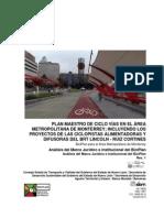 Análisis del Marco Jurídico e Institucional - BICIPLAN para el Área Metropolitana de Monterrey