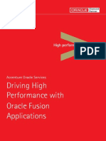 Accenture Driving High Performance With Oracle Fusion Applications