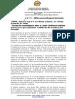 Nota de Prensa 019 - Taller de Forestación Como Mitigación Frente Al c.c. en Chivay