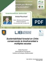 Análisis Ambiental, Biodiversidad en el MFS - Aníbal Pauchard
