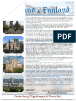Pilgrimage to England and Scotland | Canterbury Pilgrimages