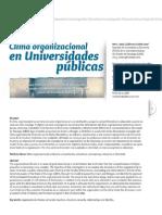 Dialnet-ClimaOrganizacionalEnUniversidadesPublicas-4025582