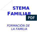 SISTEMA FAMILIAR Formacion Familia