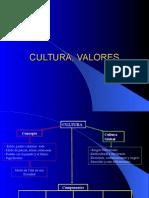 Cultura, Valores