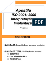 Interpretacao e Implantacao ISO 9001