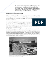Dossier placa barraques Diagonal i Santa Gemma