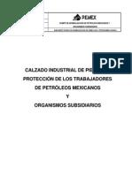 NRF-008-PEMEX-2001_Calzado Industrial de Piel Para Protección de Los Trabajadores de Petróleos Mexicanos y Organismos Subsidiarios.