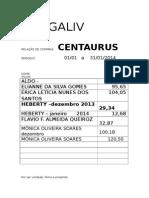 Fatura Centaurus 01 a 31-12-2013