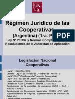 Clase 7 - Régimen Jurídico de Las Cooperativas.
