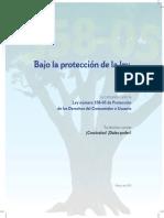 Ley 138-05 de Protección de los derechos del consumidor o usuario
