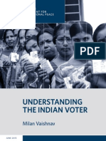 Understanding the Indian Voter