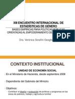 BASES EMPIRICAS PARA POLITICAS PUBLICAS - VERONICA SERAFINI - PORTALGUARANI