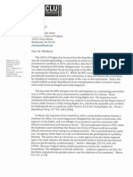 ACLU/RPV Poll Tax Letter