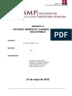 Estudio Genético Sem 09 Embriología