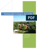 Sustainable Living in Auroville
