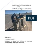 Informe Mesa de Trabajo Ambiental de Antofagasta Abril