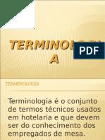 Terminologia Cozinha e Restaurante