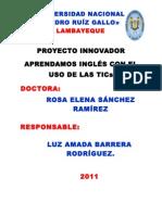 Prof. Proyecto Innivador