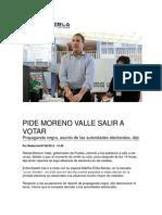 07-06-2015 Ngpuebla.com - Pide Moreno Valle Salir a Votar