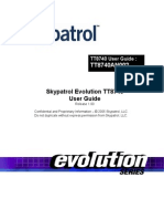 Skypatrol Evolution - TT8740 Users Guide - Revision 1.00