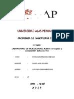 INFORME TECNOLOGIA MATERIALES-Ensayo Traccion Del Acero[1]-Fernandoc b