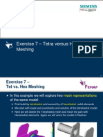 Ex 7 Tetra vs Hexa Meshing