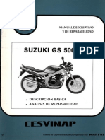 Manual Zusuki Gs500