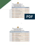 Listado de Ganadores Licitacion Publica Marzo 2015
