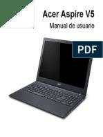 manual de usuario acer aspire v5