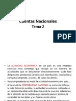 Cuentas Nacionales - Power Point 2012