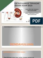 asetazolamid dan asam basa