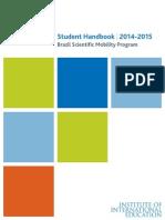 2014 2015 BSMP Student Handbook (1)