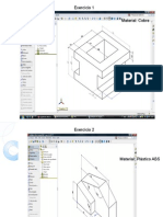 Exercicios de SolidWorks
