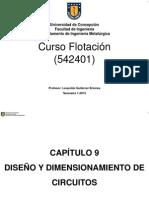 Diseno y Dimensionamiento de Cicuitos de Flotacion