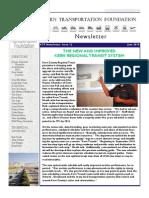 Kern Transportation Foundation Newsletter - June 2015