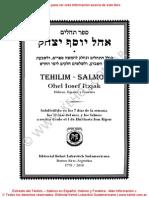 117253771 Tehilim Salmos en Espanol Hebreo y Fonetica Editorial Kehot