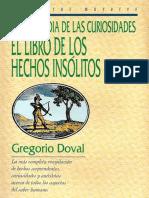 Enciclopedia de las curiosidades - Gregorio Doval