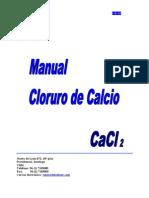 Manual de Cloruro de Calcio
