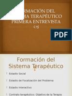 Formación Del Sistema Terapéutico