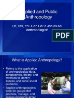 Applied Anthropology 1