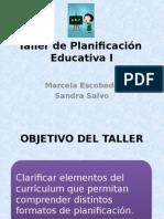 Taller de Planificación Educativa