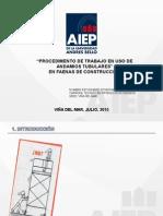 Procedimiento Trabajo Seguro en Uso de Andamios en Faenas de La Contru.ppt [Autoguardado]