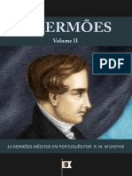 EMERSON EDUARDO RODRIGUES 10 SERMÕES VOL. II, Por Robert Murray M'Cheyne